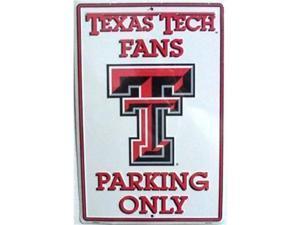 LGP - 059 Texas Tech Fans Parking Only Parking Sign - PS30074