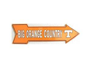 A - 011 Big Orange Country Tennessee Volunteers Sign - AS25010