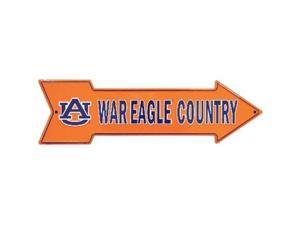 A - 025 UA University of Auburn War Eagle Country Arrow Sign - AS25035