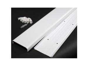 Wiremold White Flat Screen TV Cord Cover Kit  CMK30