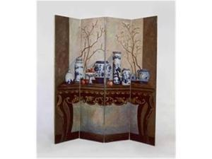 Wayborn Furniture 1297 Display Of Vase Screen