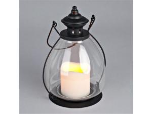 Gerson Company 37812 6.75 x 9.5 metal & glass sch. house Lantern  timer - Pack of 4