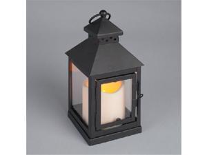 Gerson Company 37834 4 x 9 Metal & plexi mini sq Lantern  timer  Black - Pack of  9