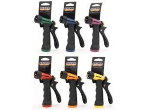 Dramm Corporation 12 Piece Display Assorted Colors Touch N Flow Pistol Nozzle - Pack of 12