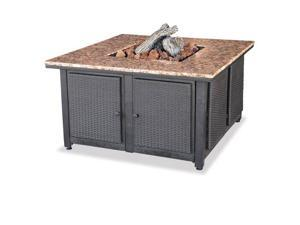 Import GAD1200B Square Gas Burning Fire Pit