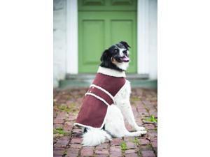 Ethical Shearling Dog Coat Large Brown 751196