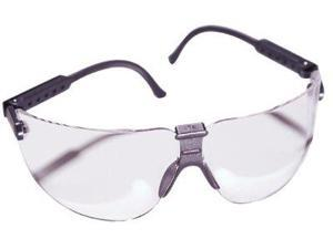 AO Safety 247-15200-00000-20 Lexa Metallic Slate Temple Safety Spectacle M