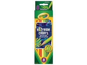 Crayola. 681120 Extreme Colored Pencil Set, Assorted, 8-Set