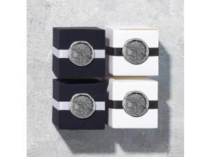 Weddingstar 9399-77 French Document Seal Flexible Wax Seals Silver