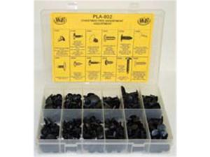 W and E Sales WEPLA-802 475 Pieces Christmas Tree Retainer Assortment