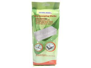 Techko Maid RM011 Dry Replaceable Mopping Sheets