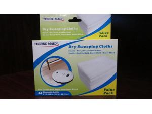 Techko Maid RM021 Dry Replaceable Mopping Sheets