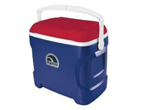 Igloo 44208 Contour 30 Personal Cooler, Blue-White
