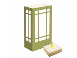 JH Specialties 77206 LumaLite Luminaria Kit- Gold Lantern 6 Count