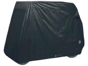 Greenline GLCB02 2 Passenger Golf Car Cover and Black 90 in. L x 48 in. W x 62 in. H