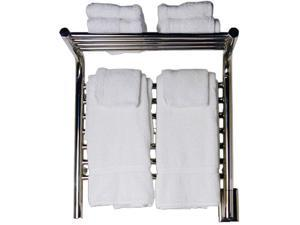 Amba Jeeves MSB-20 Jeeves M Shelf Straight Electric Towel Warmer in Brushed