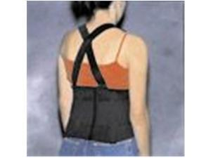 Back Support Industrial with Suspenders Lrg 39-44 - 45553