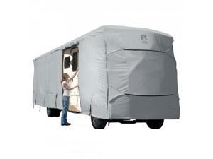 Classic Accessories 80-148-211001-00 PERP CLASS A RV COVER GREY-MDL 8-1CS