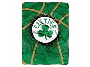 Northwest 1NBA-08030-0002-RET Shadow Play-Celtics Nba Plush Raschel 60x80