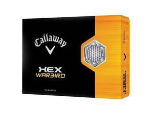 Callaway 641495012 Callaway HEX Warbird Golf Balls - 1 Dozen