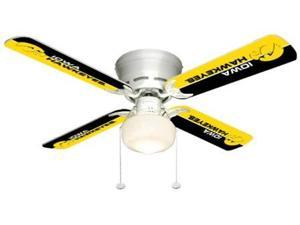 Ceiling Fan Designers 7999-IOW New NCAA IOWA HAWKEYES 42 in. Ceiling Fan