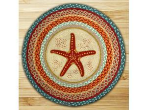 Earth Rugs 66-397SF Star Fish Round Patch