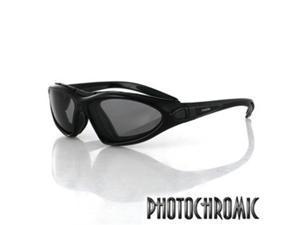 Zan Headgear BDG001 Road Master Convertible  Black Frame  Photochromic Lens