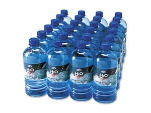 Office Snax 00027 Bottled Spring Water, 20 oz., 24 Bottles-Carton