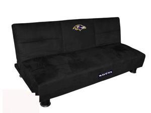 Imperial 751025 NFL Baltimore Ravens Convertible Sofa With Tray
