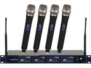 Vocopro UHF5800-6 4-Channel Wireless Microphone
