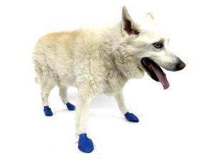 Pawz 897515001048 DOG BOOTS BLUE MEDIUM 12CT