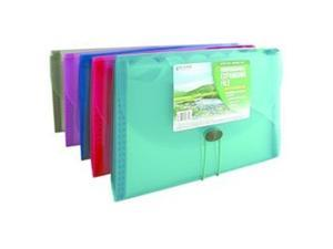 C-Line Products 48310 Specialty Expanding File 13 Pocket 13x7.25x1.5 Asst