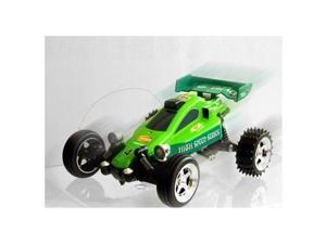 Microgear EC102553-Green Radio Controller Rc Go Kart Mini Buggy Green Car 1-43 Scale