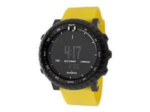 Suunto SS018809000 Men Core Yellow Crush Digital Multi-Function Yellow Silicone