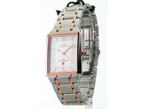 Croton CN307247TTSL Mens Steel Ultra Thin Two Tone Date Watch