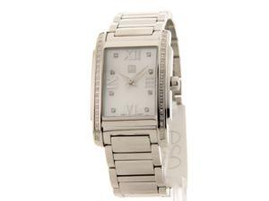 Movado 7101256 Womens Swiss Kingston Diamond Stainless Steel Watch