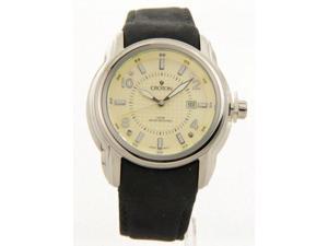 Croton CA301225BSPA Mens Black Strap Date 10Atm Casual Watch