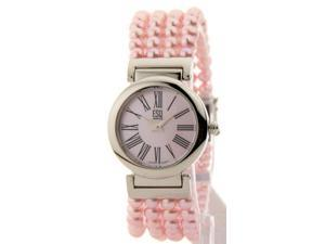 Movado 7100999 Womens Swiss Bellina Pink Pearl Bracelet Stainless Steel Watch