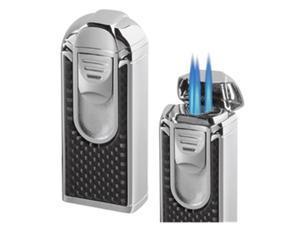Visol VLR501201 Yozora Triple Jet Flame Carbon Fiber Cigar Lighter