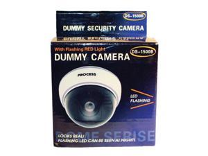 DUMMY DOME CAMERA WITH LED AND WHITE BODY