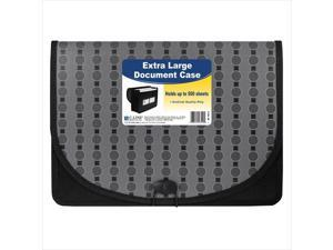 C-Line Products 56512BNDL4EA Extra Large Document Case  Fashion Circle Series - Set of 4 Files