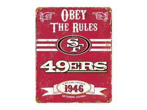 Party Animal VSSF Forty Niners Vintage Sign