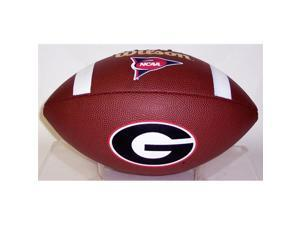 Wilson Georgia BullDogs Full Size Composite NFL Football - F1738