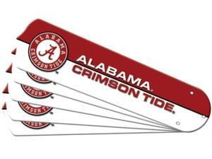 Ceiling Fan Designers 7990-ALA New NCAA ALABAMA CRIMSON TIDE 52 in. Ceiling Fan Blade Set
