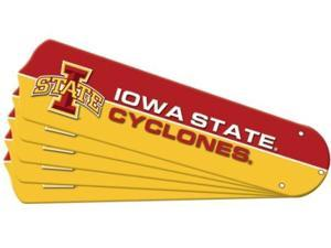Ceiling Fan Designers 7990-ISU New NCAA IOWA STATE CYCLONES 52 in. Ceiling Fan Blade Set