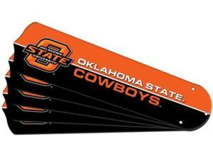 Ceiling Fan Designers 7990-OKS New NCAA OKLAHOMA STATE COWBOYS 52 in. Ceiling Fan Blade Set