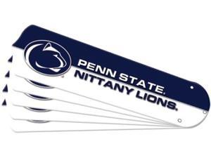 Ceiling Fan Designers 7990-PSU New NCAA PENN STATE NITTANY LIONS 52 in. Ceiling Fan Blade Set
