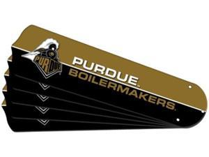 Ceiling Fan Designers 7990-PUR New NCAA PURDUE BOILERMAKERS 52 in. Ceiling Fan Blade Set