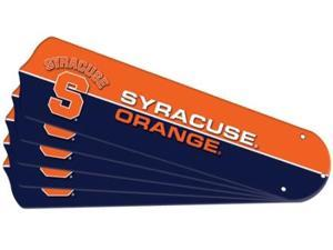 Ceiling Fan Designers 7990-SYR New NCAA SYRACUSE ORANGE 52 in. Ceiling Fan Blade Set