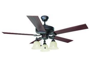 Design House 154112 Ironwood 52 in. 3-Light 5-Blade Ceiling Fan